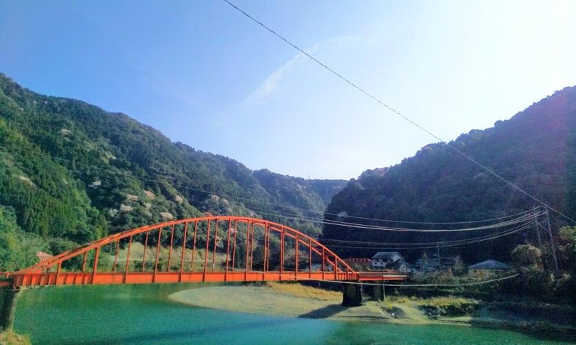 流された深水橋